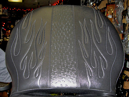 Custom seats for Harley-Davidson